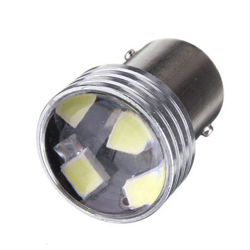 White 1156 6-2835-SMD Car LED Projector Bulbs Backup Reverse Light