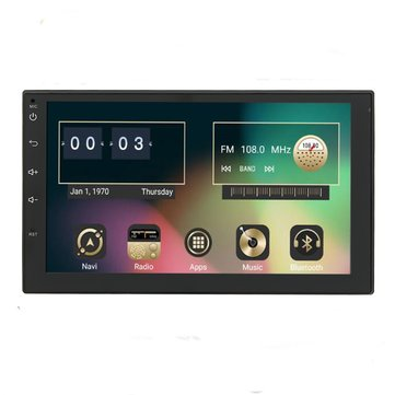 7 Inch Android 6.0 Double 2 Din Car Radio Stereo DVD Player GPS Nav OBD 3G WiFi