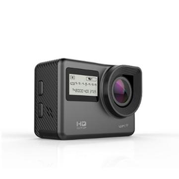 Ausek AT-S656 4K 170 gradi Ultra HD Wide-Angle impermeabile WIFI azione sportiva fotografica Nero