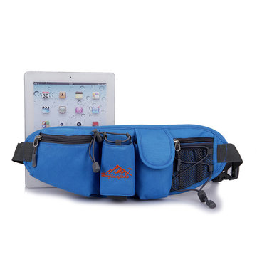 Portable Multifunction Bottle Carrier Portable Outdoor Waist Bag Sports Pack Bag Storage Phone Bag