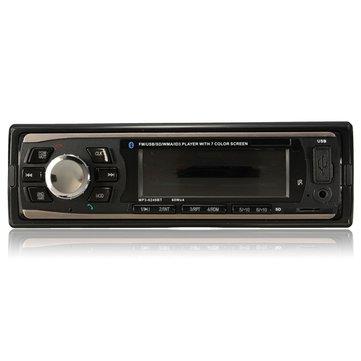 Stereo per auto LCD Audio Bluetooth Lettore MP3 AUX Head Unit Radio SD FM USB