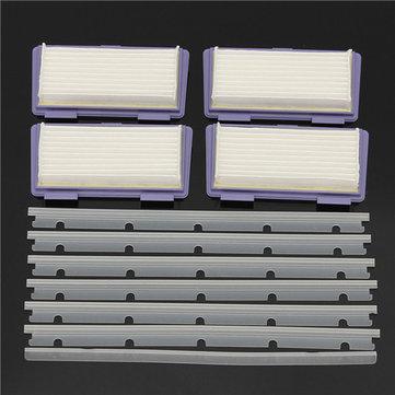 Filtros acessórios vassoura de substituição 11pcs fitas adesivas e zero-chip para xv neato