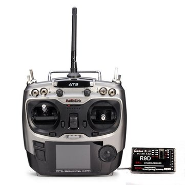 RadioLink AT9 2.4GHz 9CH Transmitter with R9D Receiver Mode 2