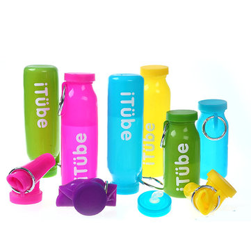 650ml Silicone Folding Water Bottle Draagbare Sport Travel Drinkwaterkoker