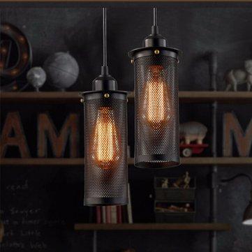 E27 خمر الصناعية مصباح السقف اديسون لمبة الثريا قلادة الإضاءة
