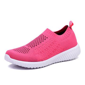 Vrouwen Casual Soft Mesh Sport Running Outdoor Flat Shoes