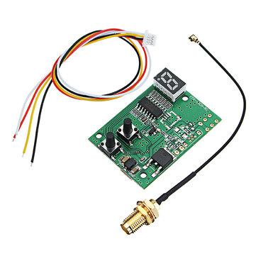 DIY 5.8G 40CH FPV AV-ontvanger RX-module Automatisch zoeken met LED-display voor FPV-monitor Displayer