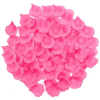 1000pcs Silk Rose Celebration kunstmatige bloemblaadjes Bloem Confetti Engagement bruiloft decoratie