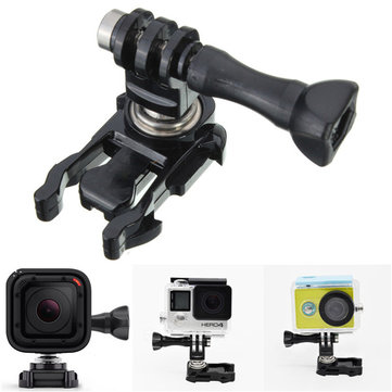 360 Degree Rotatable Ball Head Quick Release Buckle Mount For Gopro 4 Session 1 2 3 3 Plus
