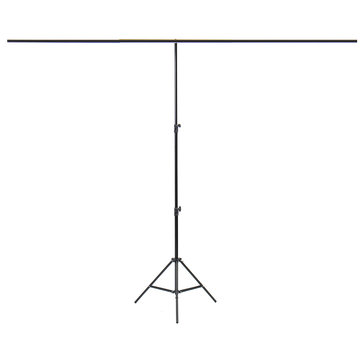 200 * 200cm Large Aluminium Photography Background Support Stand System Clips