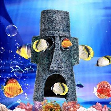 الحوض المناظر الطبيعية الديكور الحيوانات المائية منزل منزل خزان الأسماك حلية