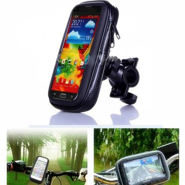 Imperméable moto guidon Support pour samsung i9200 galaxy