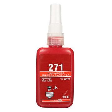 50mLネジロックスクリューロックグルー271高強度ネジロッカー嫌気性接着剤