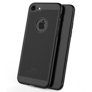 Mesh Dissipating Heat Anti-vingerafdruk Hard PC Case voor iPhone 6/6s 4.7