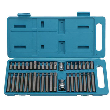 40pcs Impact Socket Bit Set 1/2