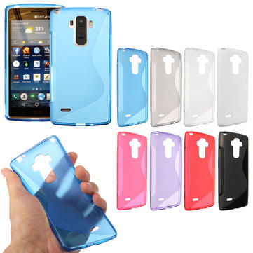 Ultra Thin/Slim S Line Soft TPU Gel Clear Back Cover Case Skin For LG G4 Note