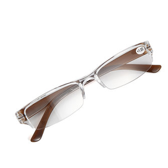 Image of Unisex Presbyopic Brillen Vintage Anti-Schock Resin Lesung Eyewear Brillen
