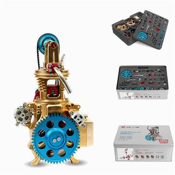 Teching Single Cylinder Engine Model Volledige Aluminium Alloy Collection