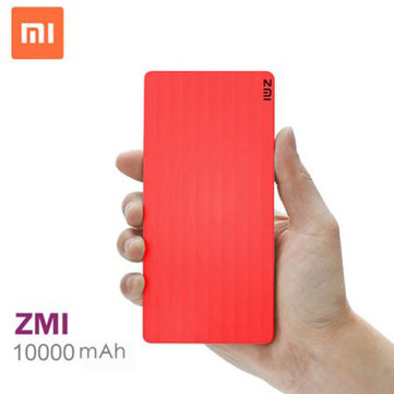 Original Xiaomi ZMI 10000mAh Power Bank Fast Charging For iPhone 6S Plus 6S Samsung Smartphone