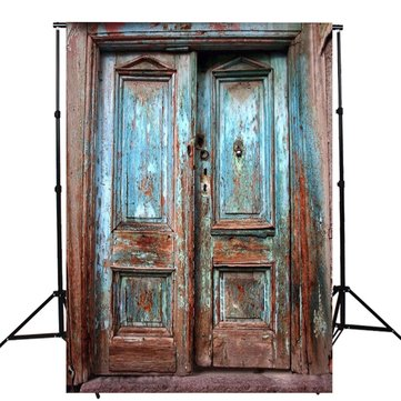 5x7FT Vinyl Retro Door Wall Photography Backdrop Background Studio Prop