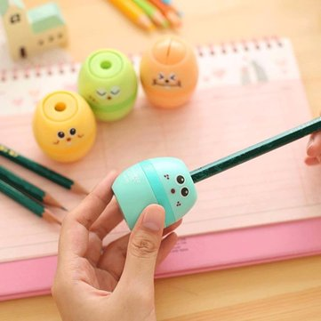 Colorful Cute Professional Pencil Sharpener Manual Stationary for Students School Office Supply