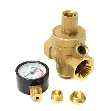 brass 1 6mpa dn20 rv water pressure regulator lead free pressure reducer gauge sale. Black Bedroom Furniture Sets. Home Design Ideas