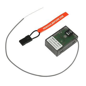 DasMikro Spektrum For DSM2 DX2E Compatible 3CH Surface RC Car Truck Receiver