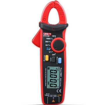 UNI-T UT210E Digital Auto Range 2000Counts True RMS Clamp Multimeter Clamp Meter Ammeter Voltmeter Resistance Capacitance Tester