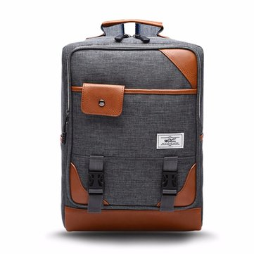 Men Women Nylon Waterproof Business Laptop Backpack