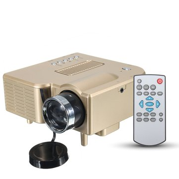 GM40 1080P HD Video portátil Home Theater Proyector Soporte VGA / SD / USB / AV para celular