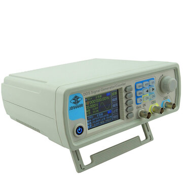 Buy RUIDENG JDS6600 DDS Signal Source Dual Channel Arbitrary Wave Function Generator Frequency Count for $78.00 in Banggood store