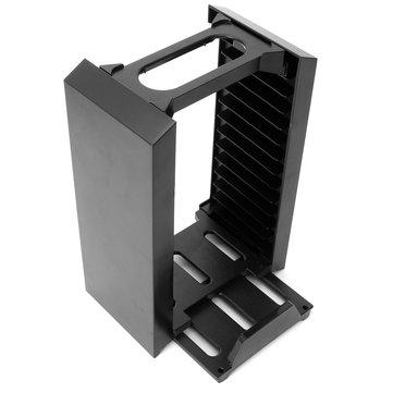 Disk Depolama Kafesi Konsol Ayaklı Çok İşlevli Ayaklı Çift Denetleyici Yuvası 3 In 1 PS4 için