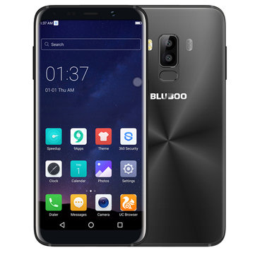 Bluboo S8 5.7 Inch Dual Rear Cameras Android 7.0 3GB RAM 32GB ROM MTK6750T Octa-Core 4G Smartphone