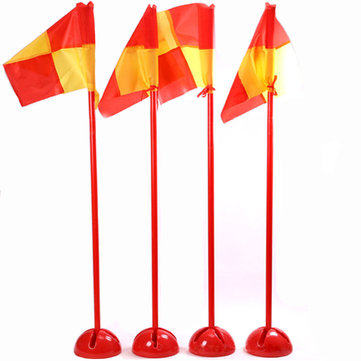 Detachable Soccer Corner Flag Football Training Base Water Injection Multifuntion Flag