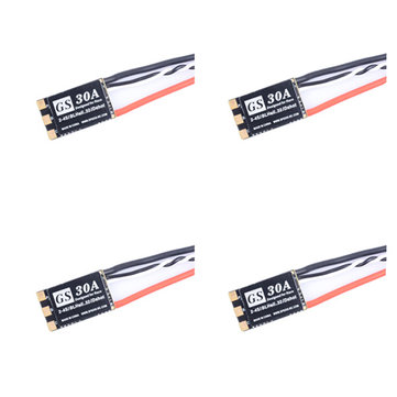 4X Spedix GS30 30A BlHeli 32 Bit ESC 2-4S Support Dshot1200 for RC Multirotor FPV Racing Drone