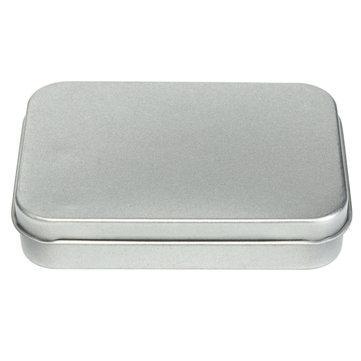 Metal Tin Flip Storage Box Case Organizer For RC Models