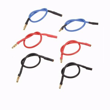 4.0 3.5mm Connetor 200mm Wires Motor ESC Extend Wire RC Car Boat Part