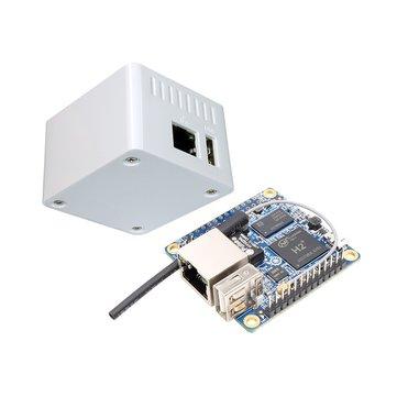 2'sibiraradaOrangePiSıfır H2 Quad Core Açık kaynak 256MB Geliştirme Kartı + Koruyucu Kılıf Kit