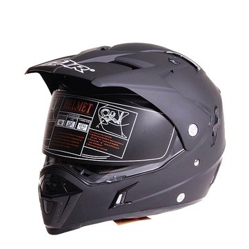 ECE Dual Lens Motorcycle Full Face Helmet Safety Racing Off Road for GDR-311