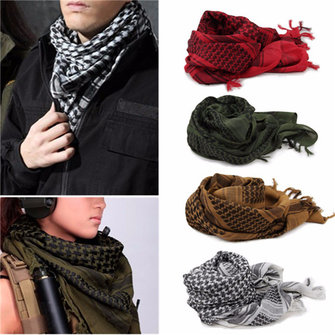 Mens Womens Winter Military Scarves
