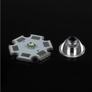 60 Degrees XRE/XRC LED Bead Surface Lens 11.8mm