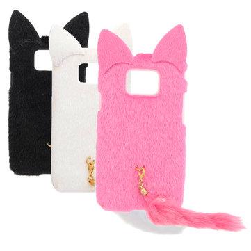 Tavşan Kulakları Cep Telefonu Kılıf Samsung Galaxy SII I9100 için