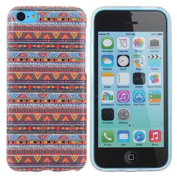 Africa Tribal Stripe TPU Case Hard Back Cover For iPhone 5C