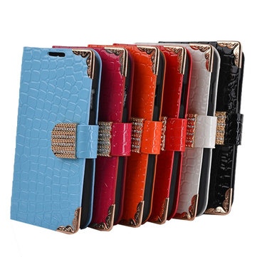 Stone Pattern PU Leather Wallet Case For Samsung Galaxy S4 I9500