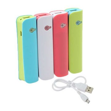 2600mAh Power Bank Portable Extenal Battery Charger For Mobile Phone