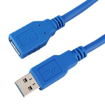 1m USB 3.0 Type A Male to A Female Extension Cable
