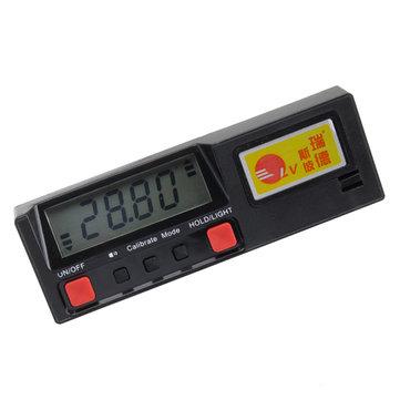 Portable 360 Degree Magnetic Digital Level Inclinometer Protractor Measurement Tool
