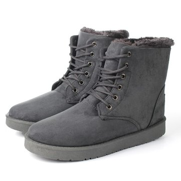 Fashion Mens Winter Warm Short Snow Boots Classic Casual Shoes ...