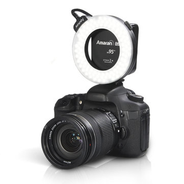 AHL-HC100 AHL-HN100 LED Macro Ring Flash Light For Canon Nikon