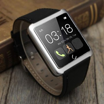 Bluetooth Smart Touch Wrist Watch Oproepen voor iPhone IOS Android